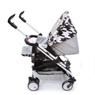 91e87e833 Cochecito de paseo para bebés Baciuzzi 4 ruedas blanco