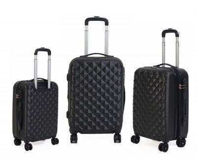718cde8a8 Set de 3 valijas rígidas de plástico, colores varios | Rupless