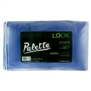 Cover Look reversible bifaz de 2½ plazas, color azul