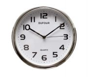Reloj De Pared Dufour Silencioso Grande Deco Fashion 312